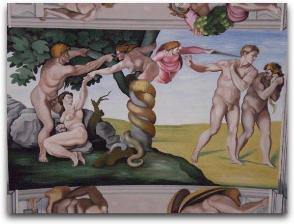 The Fall - Goring Sistine Chapel
