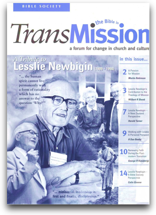 Transmission - Newbigin special edition